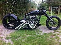 Harley-diebstahl-tm in Harley gestohlen!